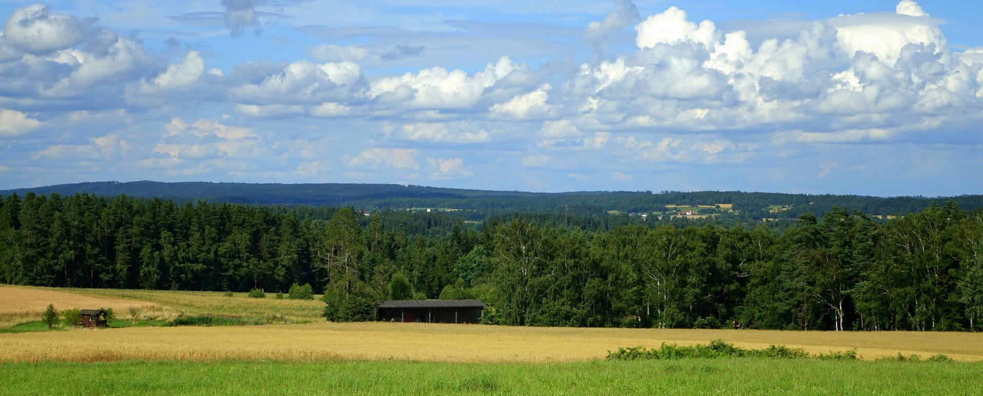 Starohuťský hřeben od Litschau